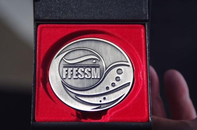Médaille d'argent FFESSM pour Didier